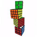Набір кубиків рубика в коробці з 4 штук подарунковий набір Кубик рубик головоломка іграшка, фото 2
