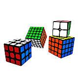 Набір кубиків рубика в коробці з 4 штук подарунковий набір Кубик рубик головоломка іграшка, фото 8