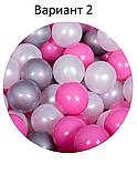 Сухий басейн з кульками! блакитний колір ,150 кульок в комплекті, фото 3