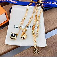 Женская цепочка на шею Louis Vuitton Луи Витон
