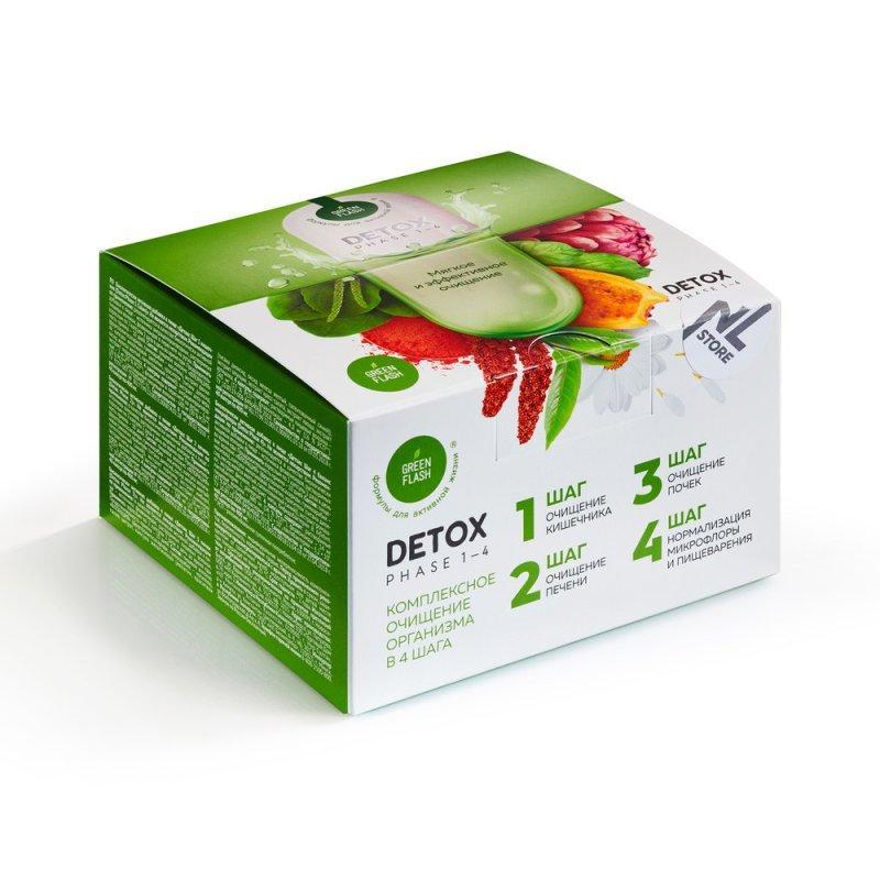 Очищення організму Greenflash Detox NL 4 кроку