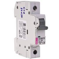 Автоматический выключатель ETIMAT 6 1P 16A C (6kA)