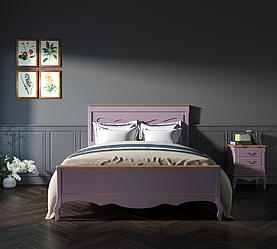 """Ліжко """"Моне"""" з натурального дерева"""