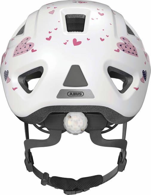 Велосипедный детский шлем ABUS ANUKY 2.0 ACE M 52–56 White Heart, фото 2