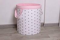 """Кошик для іграшок """"Панди в рожевих спідницях"""", фото 4"""
