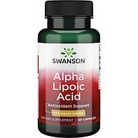 Альфа-липоевая кислота, Alpha-Lipoic Acid, Swanson, 600 мг, 60 капсул