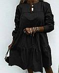 Жіноче плаття з рюшем, фото 3