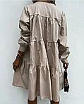 Жіноче плаття з рюшем, фото 4