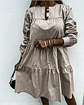 Жіноче плаття з рюшем, фото 8