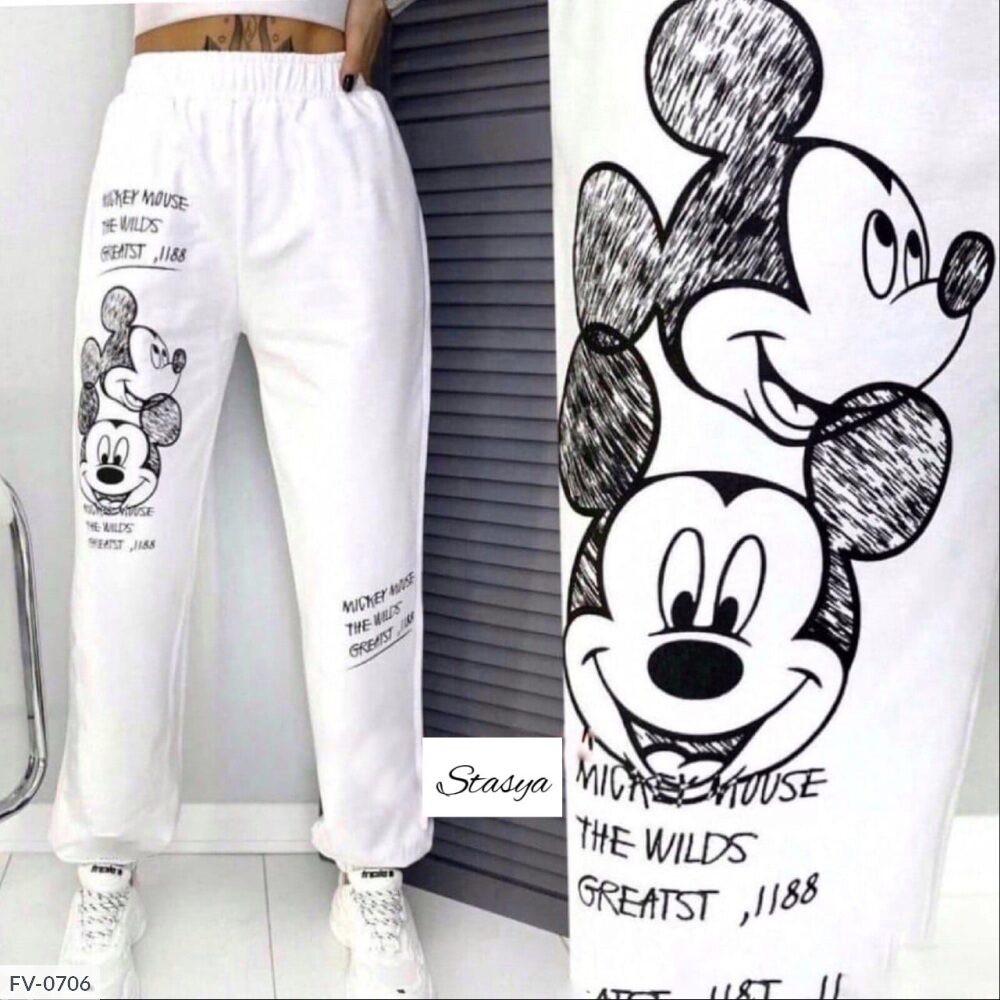"""Жіночі спортивні штани """"Міккі"""""""