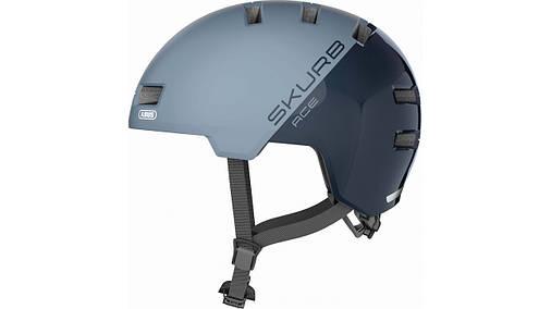 Шлем велосипедный ABUS SKURB ACE M 54-58 Glacier Blue, фото 2