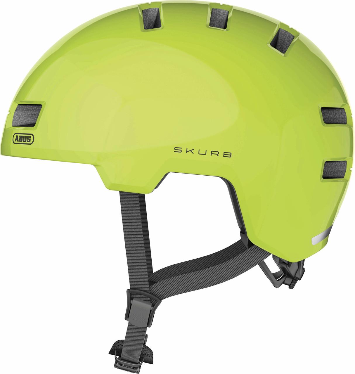 Шлем велосипедный ABUS SKURB M 54-58 Signal Yellow
