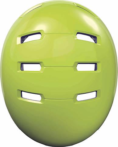 Шлем велосипедный ABUS SKURB M 54-58 Signal Yellow, фото 2