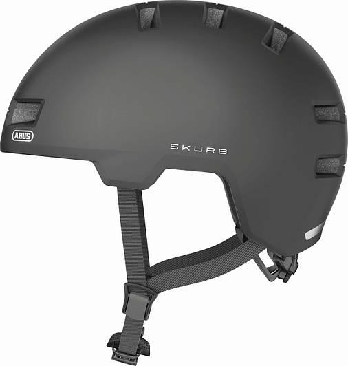 Шлем велосипедный ABUS SKURB S 52-56 Titan, фото 2