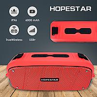 Портативная bluetooth колонка Hopestar A20 красная блютуз колонка хопстар