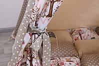 Детская палатка-вигвам с ковриком Индейци в лесу  125х125х170 см, фото 8
