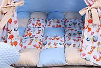 Детская палатка-вигвам с ковриком Воздушные шары  125х125х170 см, фото 7