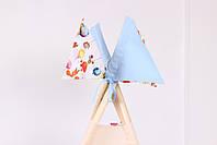 Детская палатка-вигвам с ковриком Воздушные шары  125х125х170 см, фото 6