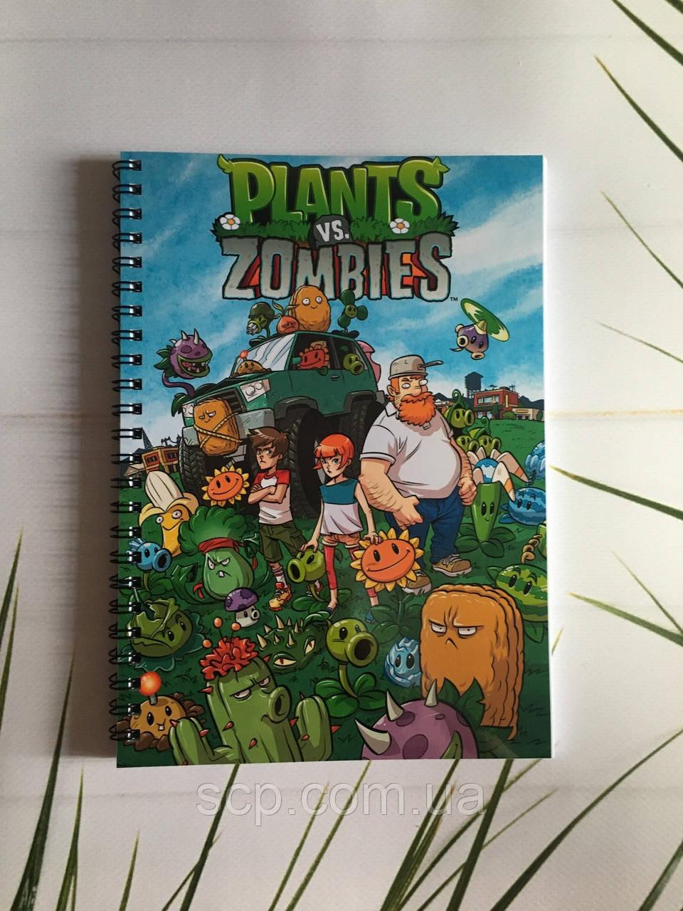 Блокнот Plants vs Zombies