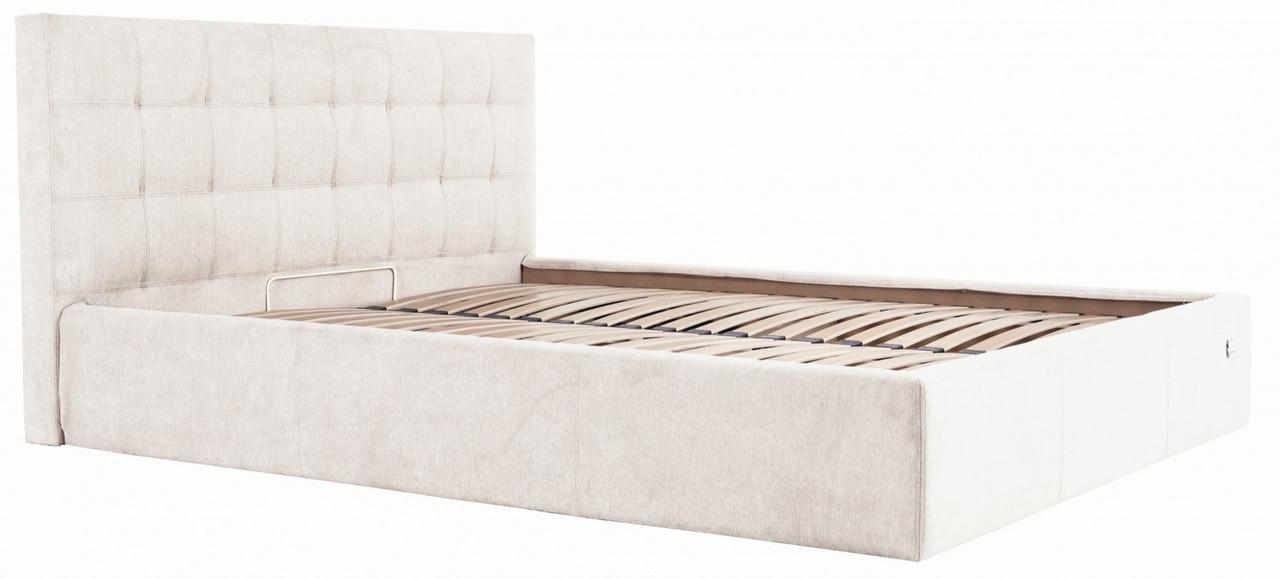 Кровать Richman Честер 120 х 200 см Мисти Milk С подъемным механизмом и нишей для белья Бежевая (rich00067)