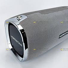 Портативна bluetooth колонка Hopestar A6 портативна акустика блютуз колонка 31 Вт сіра, фото 3