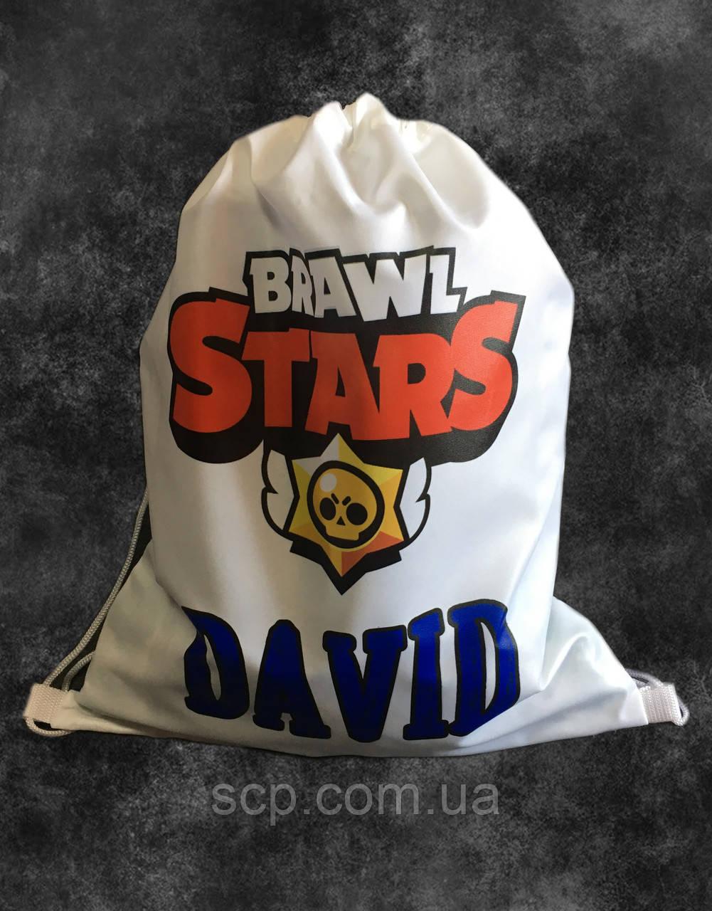 Мешок-рюкзак с принтом