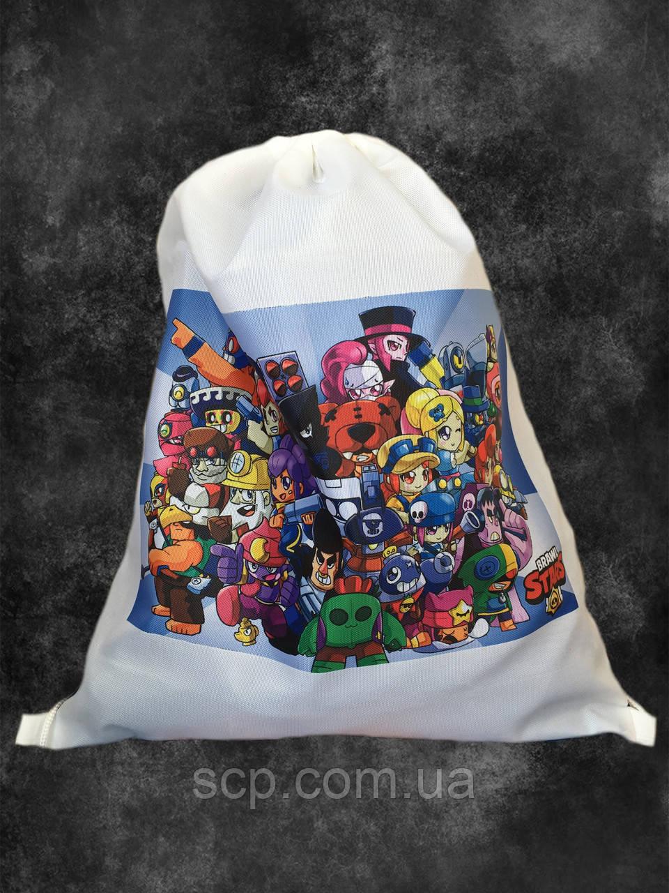 Мішок-рюкзак з принтом