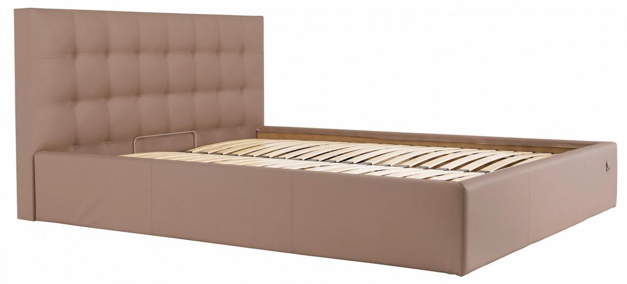 Кровать Двуспальная Richman Честер 160 х 200 см Флай 2213 Светло-коричневая (rich00034)