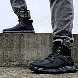 Ботинки мужские на меху зимние (КЛА-53чср), фото 3