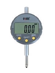 Индикатор цифровой Kronos KM-232-12.7 12.7 0.01 мм с ушком и с сертификатом о калибровке Серы ZZ, КОД: 677831
