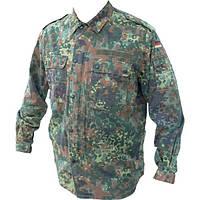 Камуфляжный китель армии Германии для охоты, для армии, расцветка Flecktarn Б/У