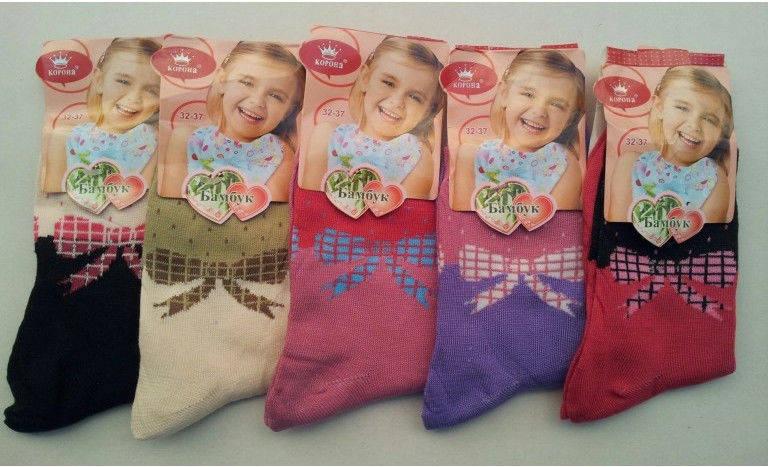 Детские носки девочка 32-37 «Корона», фото 2