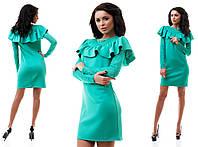 Платье с длинными рукавами из гипюра 3 цвета