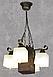 Люстра подвес бревно на 4 плафона Лофт 320414, фото 3