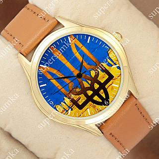 Кварцевые наручные часы Украинa 1053-0012