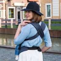 Эрго рюкзак DLIGHT из шарфовой ткани - Вселенная  Love & Carry®