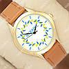 Яркие наручные часы Украинa 1053-0020