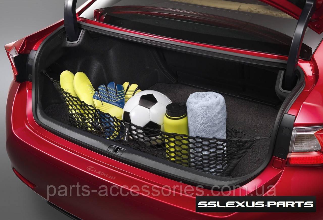 Lexus RC RC-F 2014-17 сітка притискна в багажник вертикальна нова оригінал