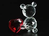 Фигурка Мишка с сердцем