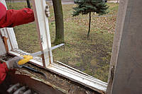 Демонтаж оконных конструкций