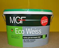 Краска для внутренних работ Eco Weiss MGF ( 7кг)