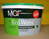 Краска для внутренних работ Eco Weiss MGF ( 14 кг)