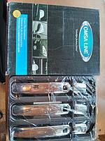 Накладки на ручки на Тойота L/C200 c 2007> (нерж) OMSALINE.