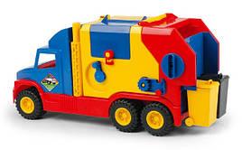 Игрушечная машинка Мусоровоз маленький серии Super Truck Wader 36580
