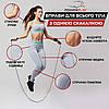 Скакалка швидкісна PowerPlay 4202 Червона, фото 8