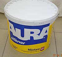 Водно-дисперсионная краска для потолков и стен  Mastare AURA  (5 л /7 кг)