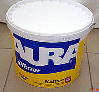 Водно-дисперсионная краска для потолков и стен  Mastare AURA  (10л), фото 1