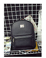 Стильный черный рюкзак , фото 1