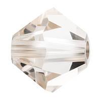 Кришталеві біконуси Crystal з покриттям Preciosa (Чехія) 3 мм, Crystal Velvet