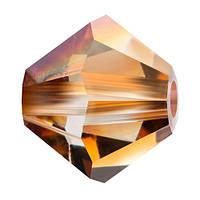 Кришталеві біконуси Preciosa (Чехія) 3 мм Crystal Venus